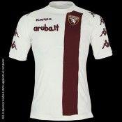 La seconda maglia del Torino 2011-2012 Kappa