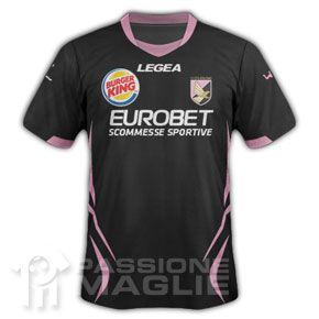 Terza divisa Palermo 2011-2012 marchio Burger King