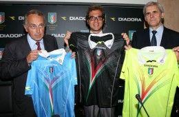 Le nuove maglie degli arbitri Diadora 2011