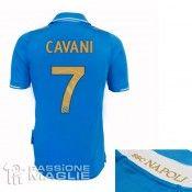 Retro maglia azzurra Napoli Champions