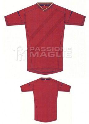 Disegno Adidas maglia Spagna home