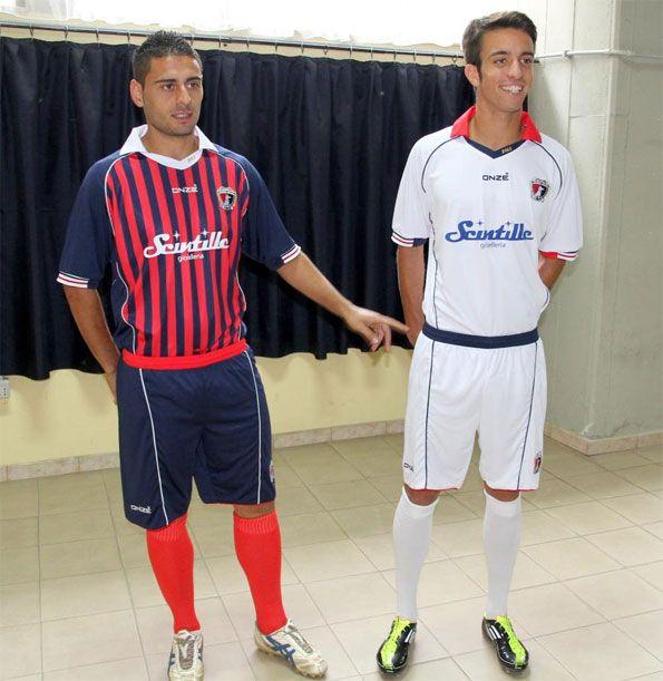 Le divise del Cosenza 2011-2012 Onze