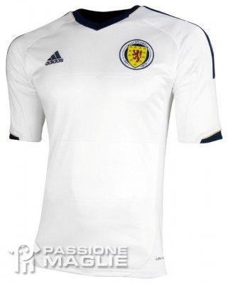 Scozia seconda maglia 2012-2013