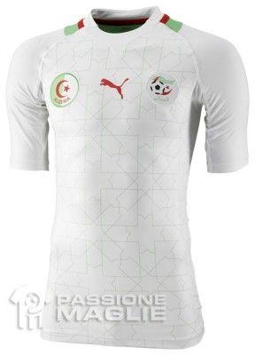 Maglia casalinga dell'Algeria 2012 Puma
