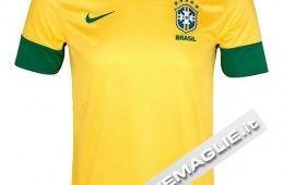 Maglia del Brasile 2012 gialla