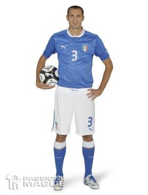 Chiellini maglia Italia 2012