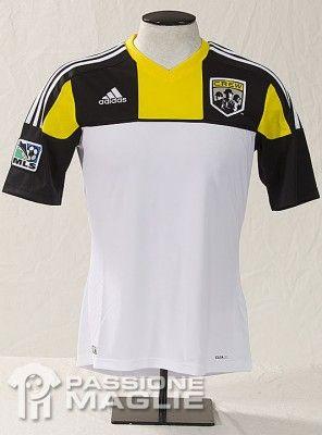 Seconda maglia Columbus Crew MLS 2012
