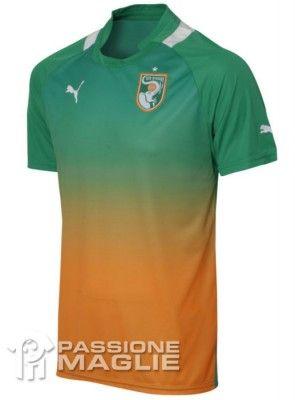 Seconda maglia della Costa d'Avorio 2012