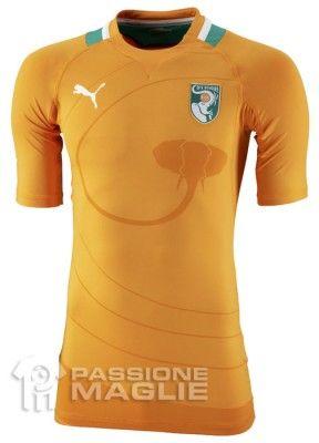 Prima maglia della Costa d'Avorio 2012 Puma