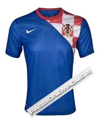 Casacca away della Croazia 2012