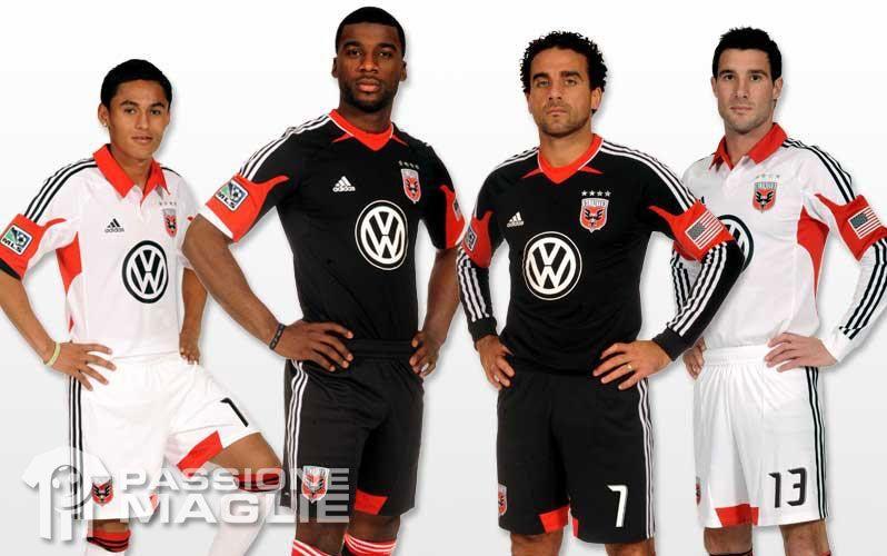 Divise DC United 2012 Adidas