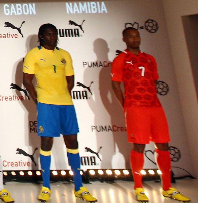 Divise Gabon e Namibia Puma 2012