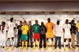 I kit africani sponsorizzati Puma 2012