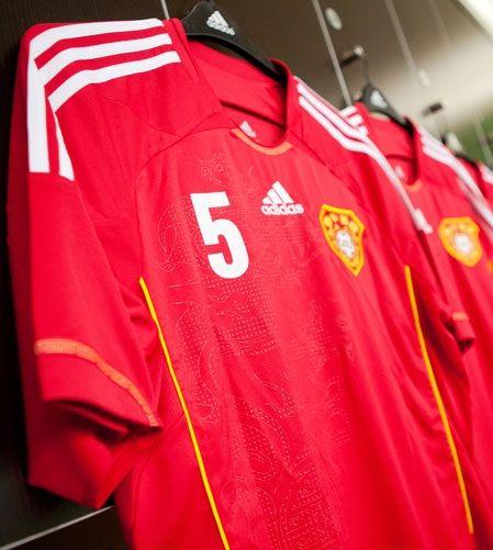 La nuova maglia della Cina 2012