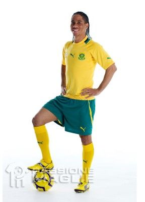 Pienaar indossa la maglia del Sudafrica 2012