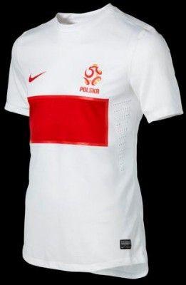 La prima maglia della Polonia 2012