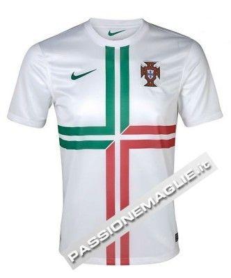 Maglia da trasferta del Portogallo 2012 Nike