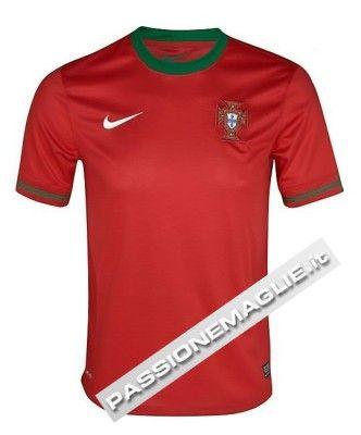 Prima maglia Portogallo 2012 Nike