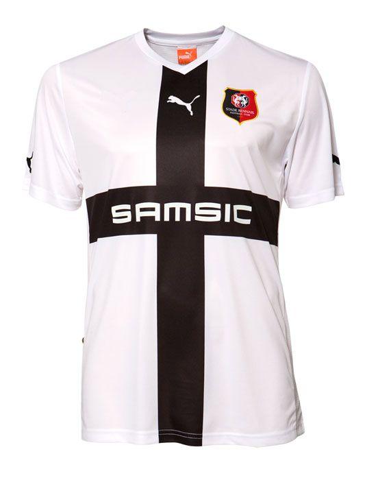 Seconda maglia Rennes 2011-2012 Puma