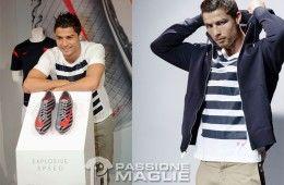 Ronaldo a Madrid per la collezione Nike CR7