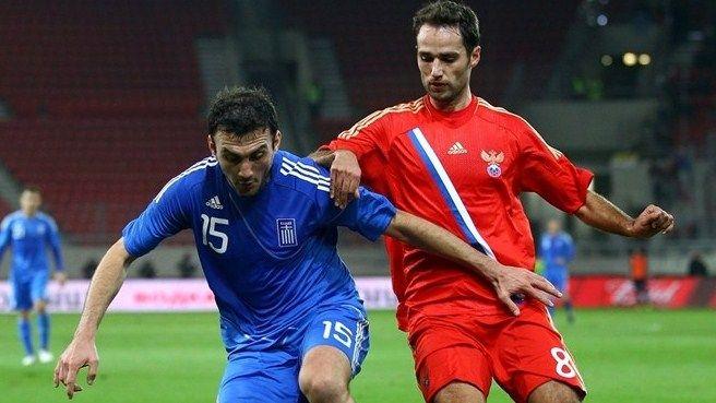 Esordio per la maglia della Russia contro la Grecia
