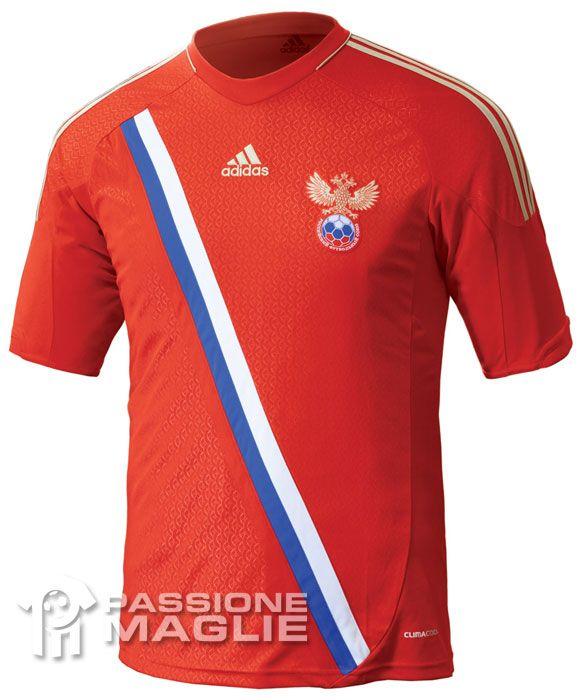 La prima maglia della Russia 2012