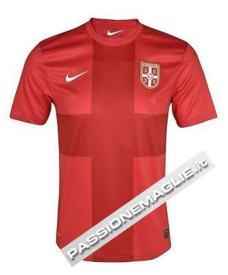 Divisa home Serbia 2012-2013