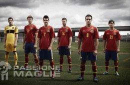 Divise Spagna 2012-2013 Adidas
