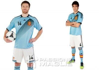 Casacca away nazionale spagnola