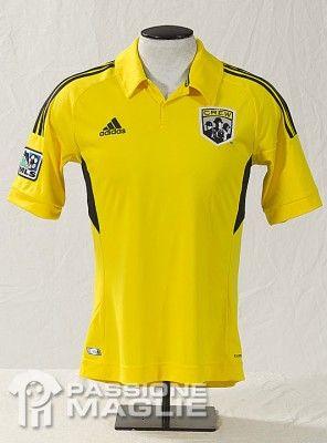 Prima maglia Columbus Crew per la MLS 2012