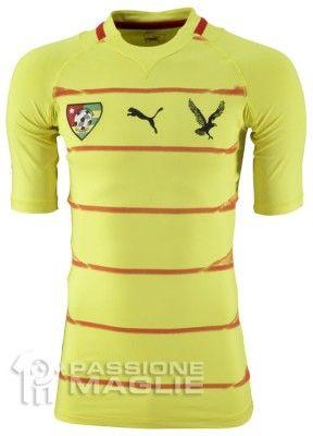 Prima maglia del Togo marchiata Puma