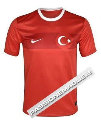 Prima casacca home Turchia 2012