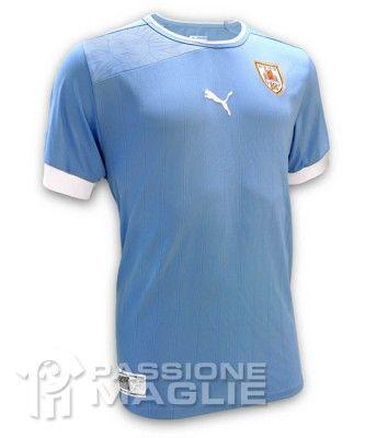 Prima maglia Uruguay 2012 Puma