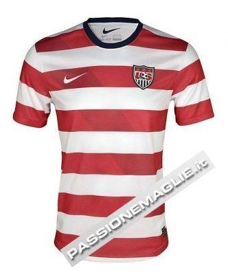 Prima maglia USA 2012-2013