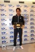 Buffon mostra la fascia da capitano Puma
