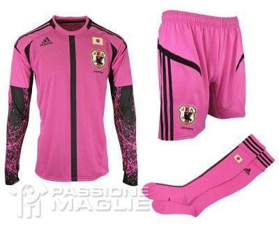 Giappone seconda maglia portiere Adidas