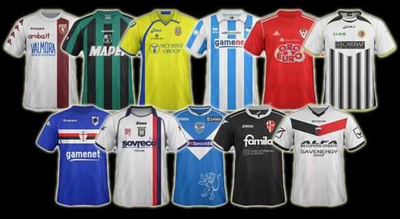Kit design Serie Bwin 2011-12