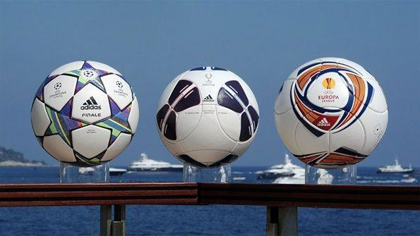 Palloni da calcio Adidas per l'Uefa 2011-2012