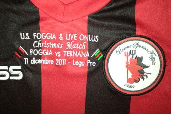 Maglia Christmas match Foggia-Ternana