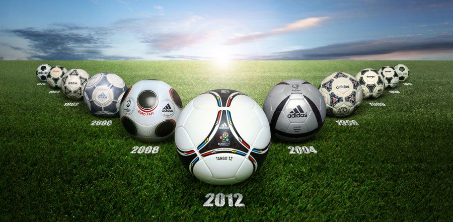 Tutti i pallone degli Europei Adidas