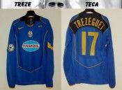 Maglia Juventus 2004-2005 Trezeguet