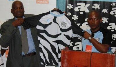 Prima maglia Botswana 2012