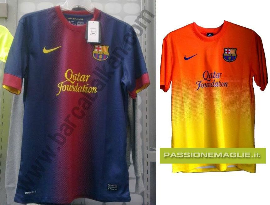 Bozze maglie Barcellona Nike 2012-2013