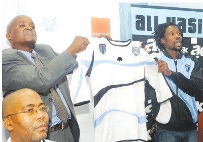 Seconda maglia del Botswana da trasferta