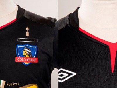 Particolare maglia Colo-Colo away 2012