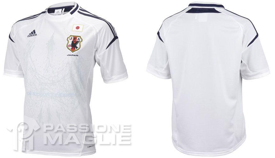 Seconda maglia Giappone 2012 Adidas