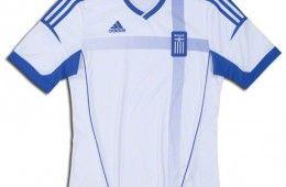 Prima maglia Grecia 2012 Europei