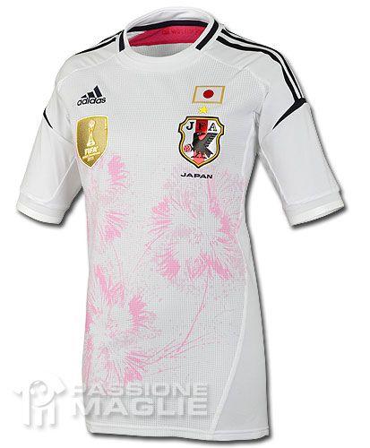 Giappone away donne 2012 adidas