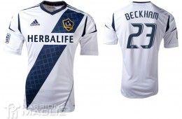 Prima maglia LA Galaxy 2012 Adidas