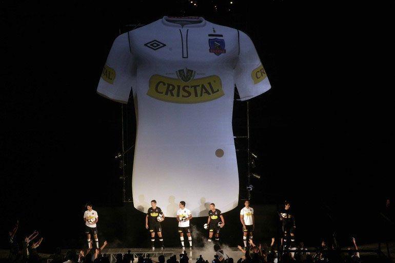 Presentazione maglie Colo Colo 2012